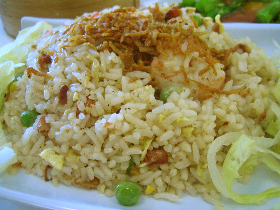 Ikan Bilis Fried Rice