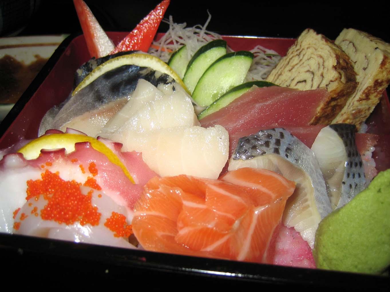 Cuisine Bou Chirashi Sushi
