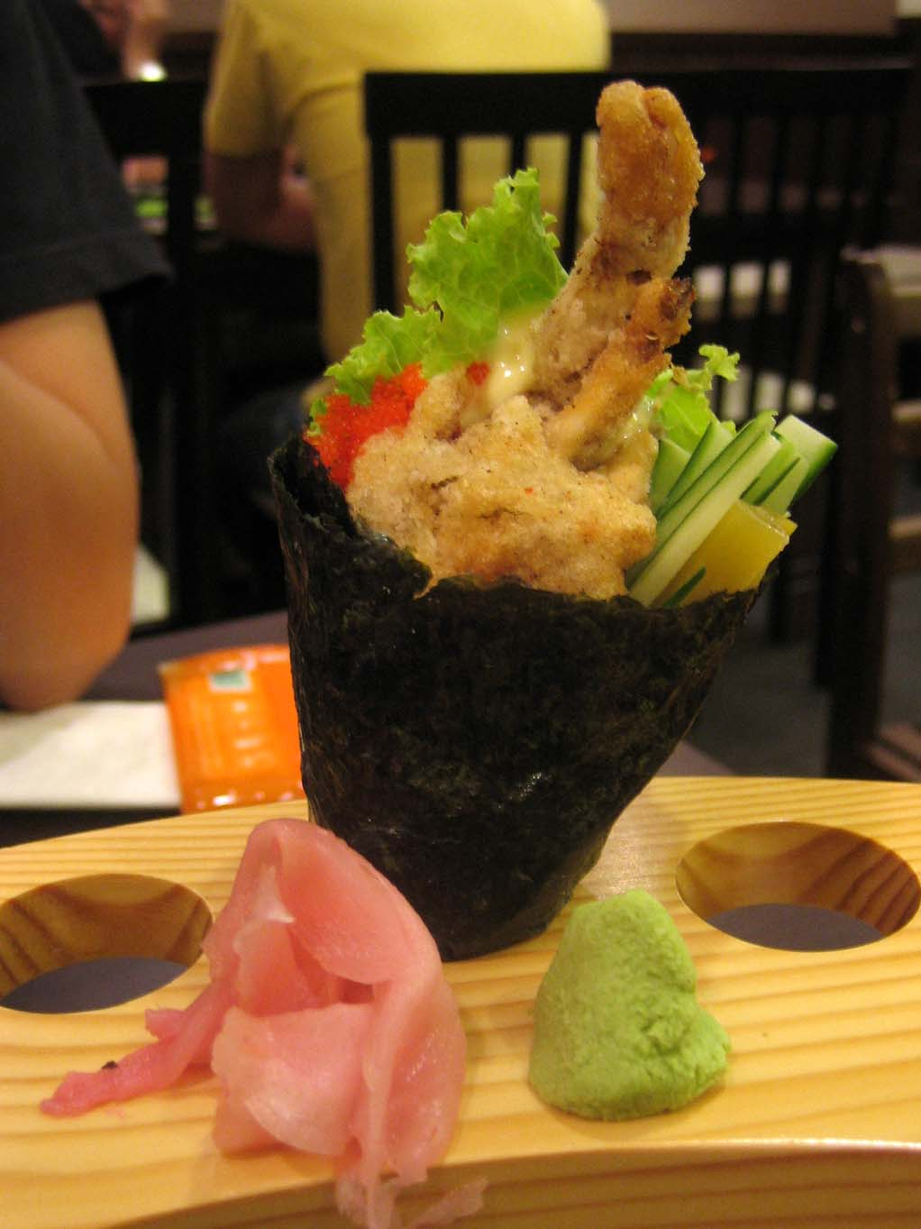 Cuisine Bou Hand roll