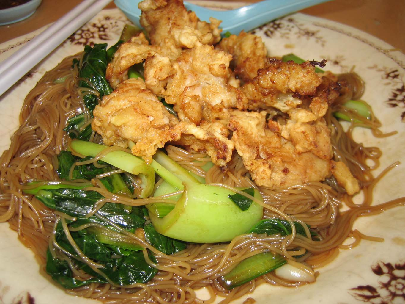 Fish meat bee hoon