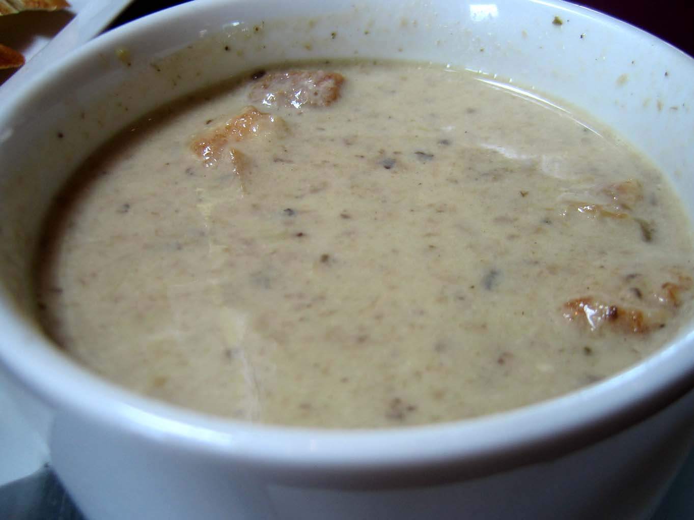 Mizi Mushroom soup