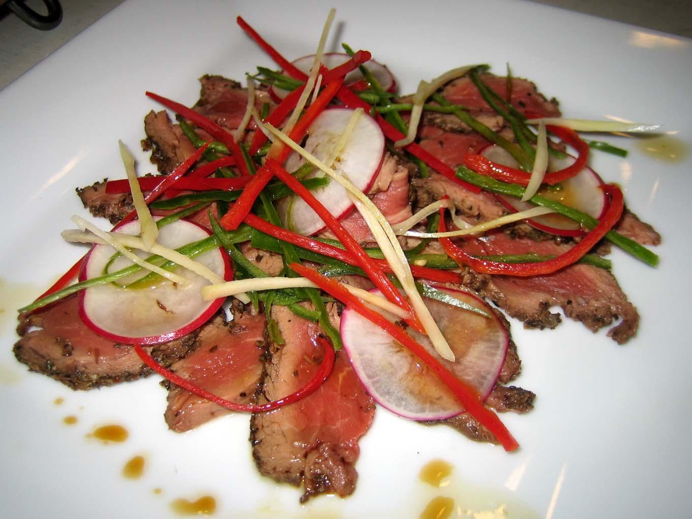 Oriental Beef Carpaccio