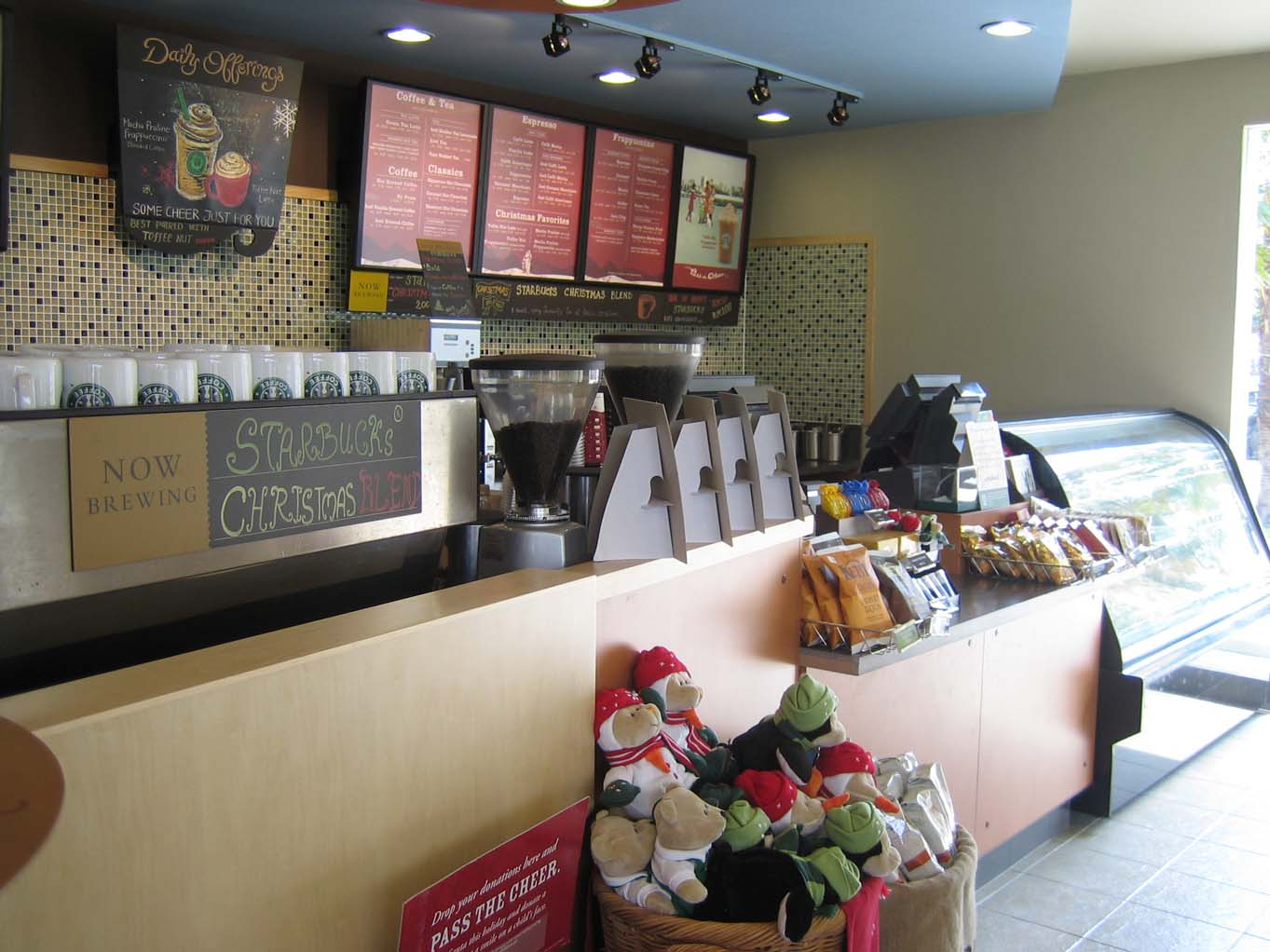 Starbucks NWP interior