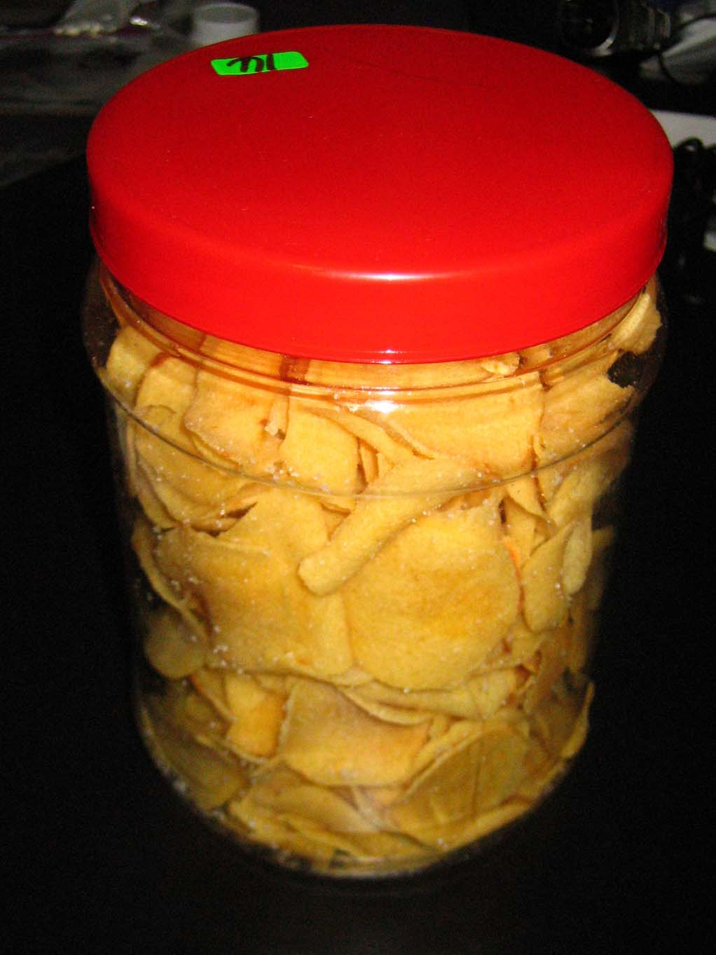 Arrowroot chips