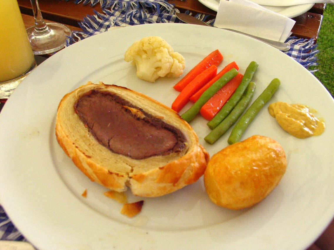 David Brown's Beef Wellington