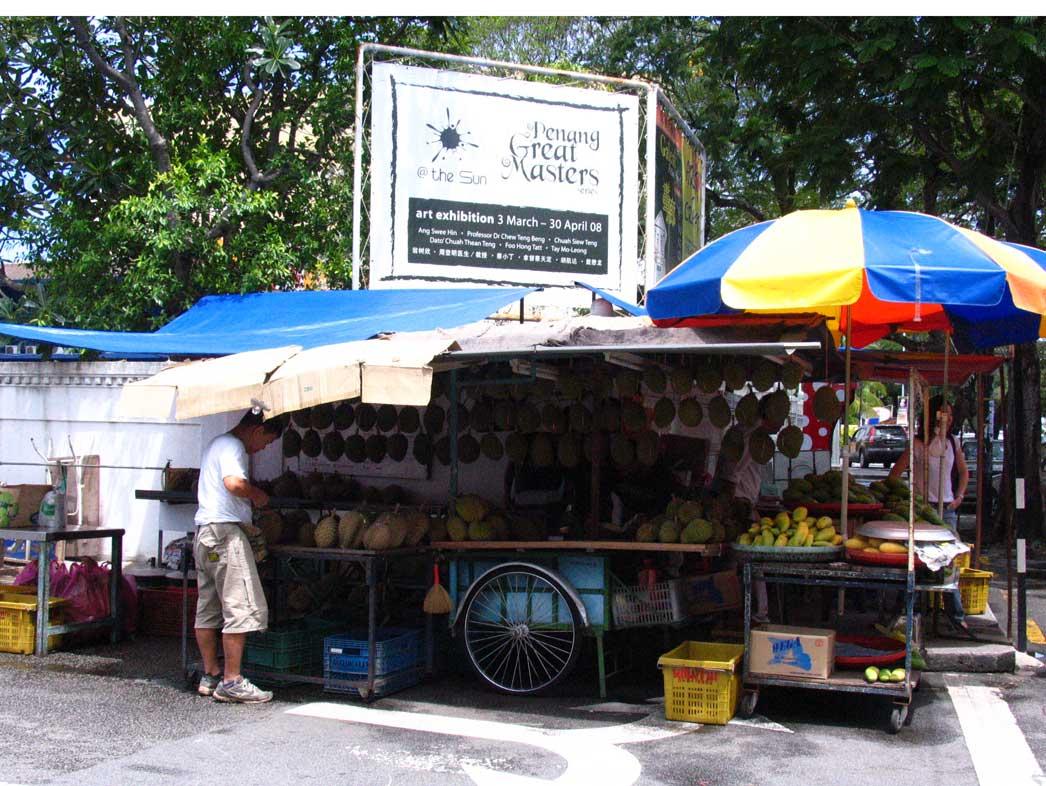 Ah Teik Durian Stall