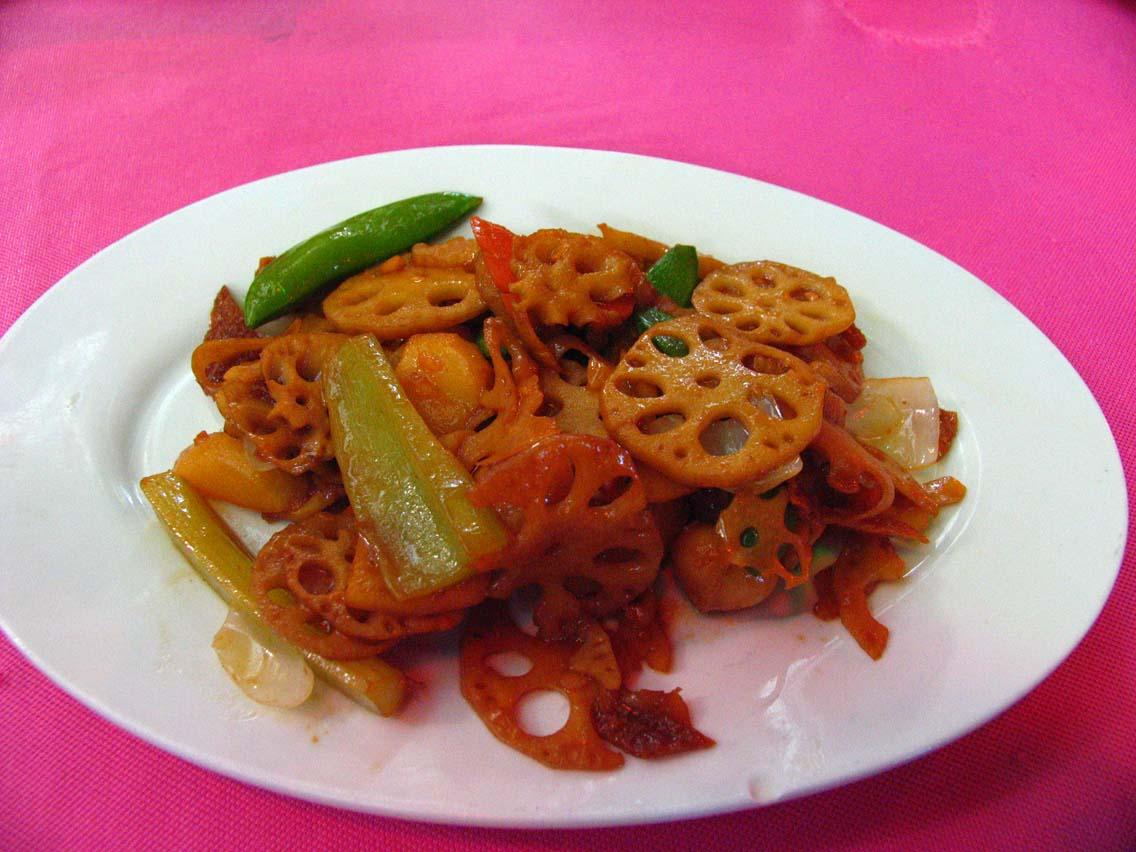 Hau Kee - lotus root dish