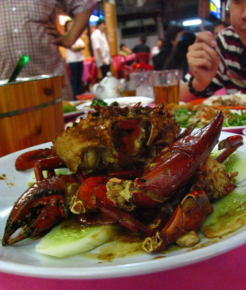 Hau Kee - crabs with herbs