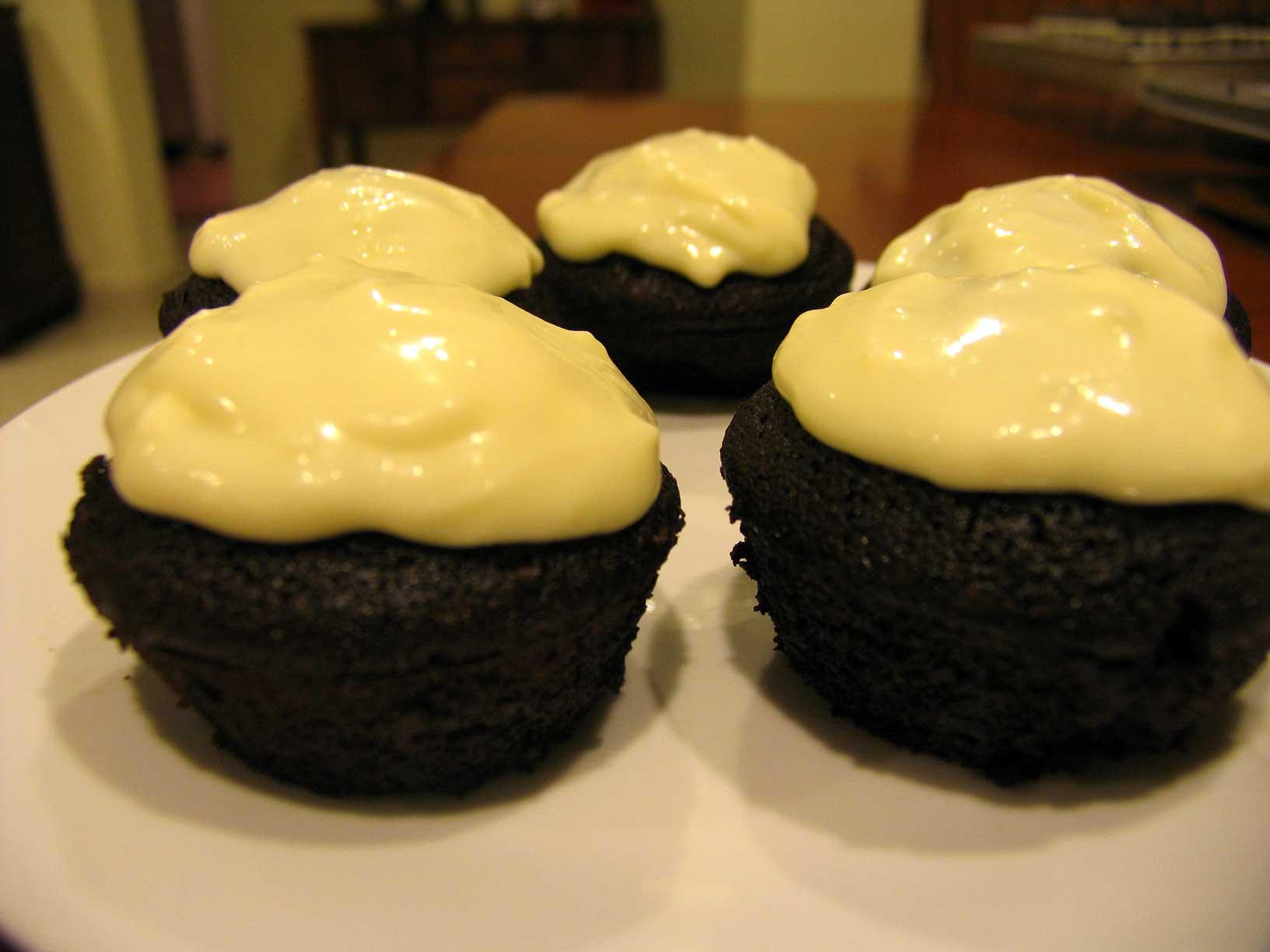 Choc Guiness Cupcakes