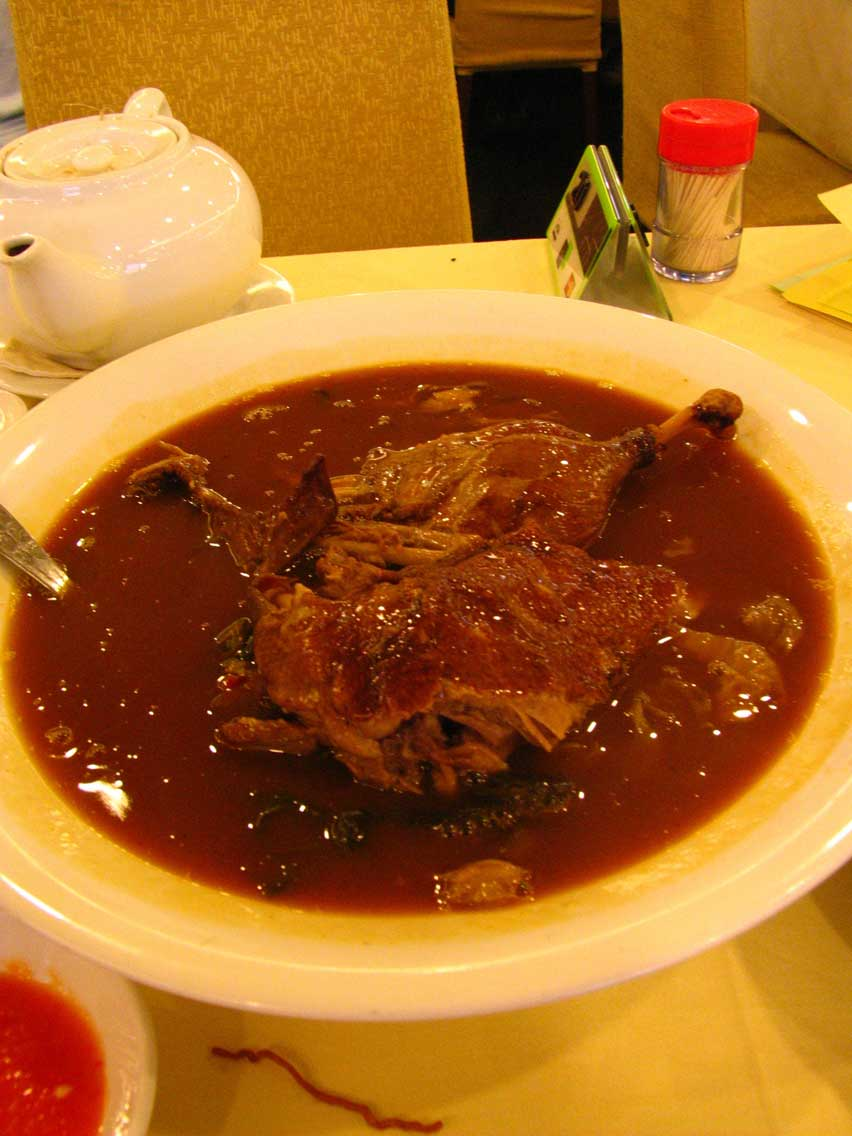 Overseas Duck dish