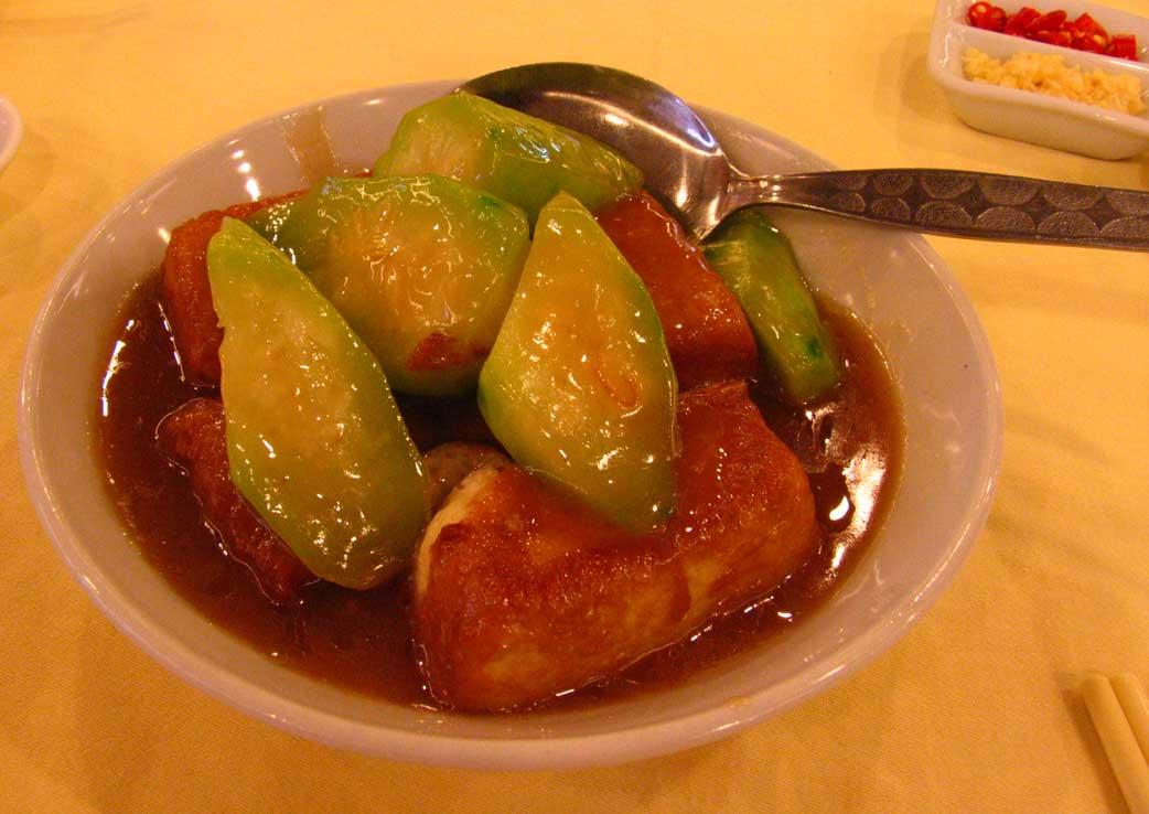 Overseas Tofu dish