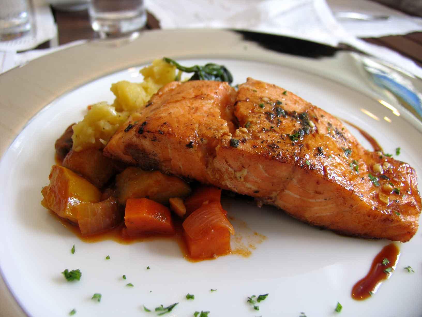 Sire Teriyaki Salmon