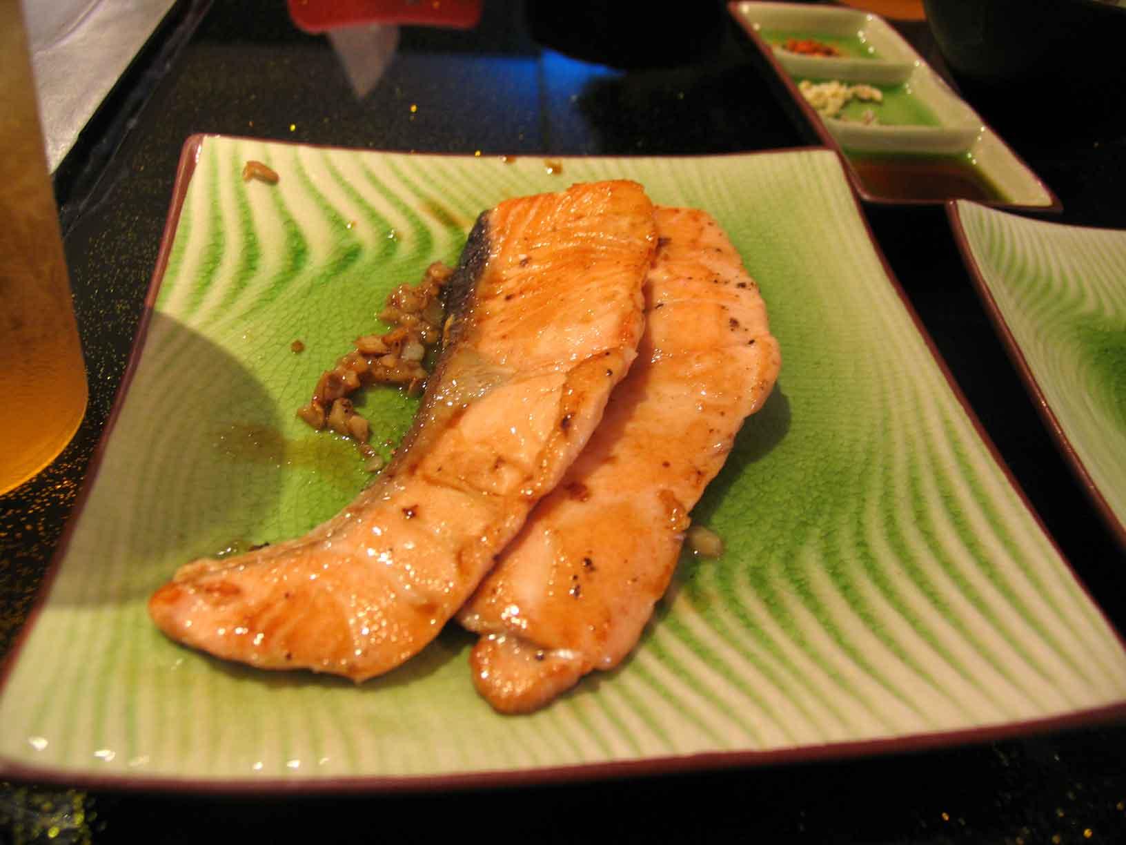 Sakae Teppanyaki salmon