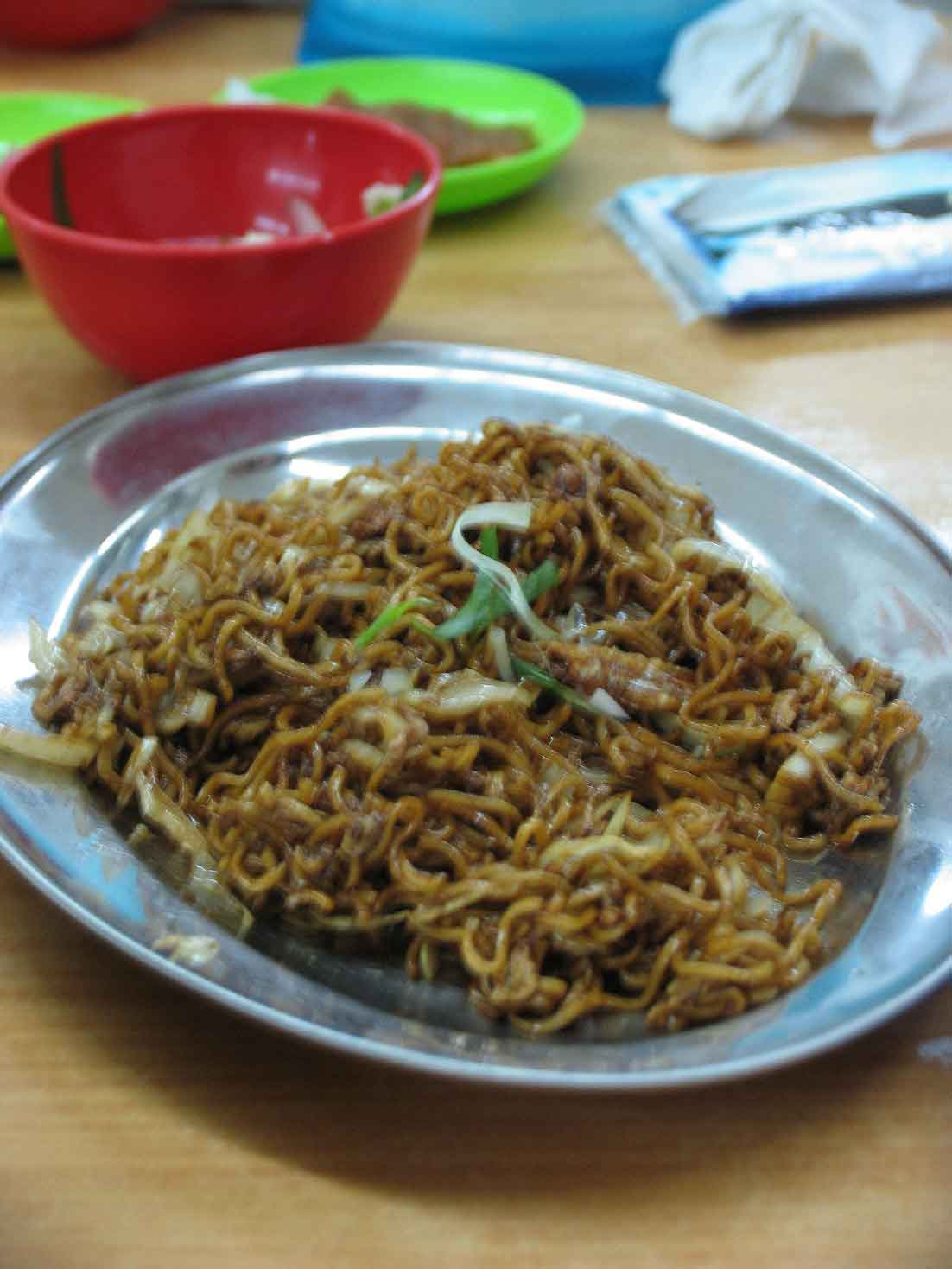 Terubong Seafood fried maggi mee