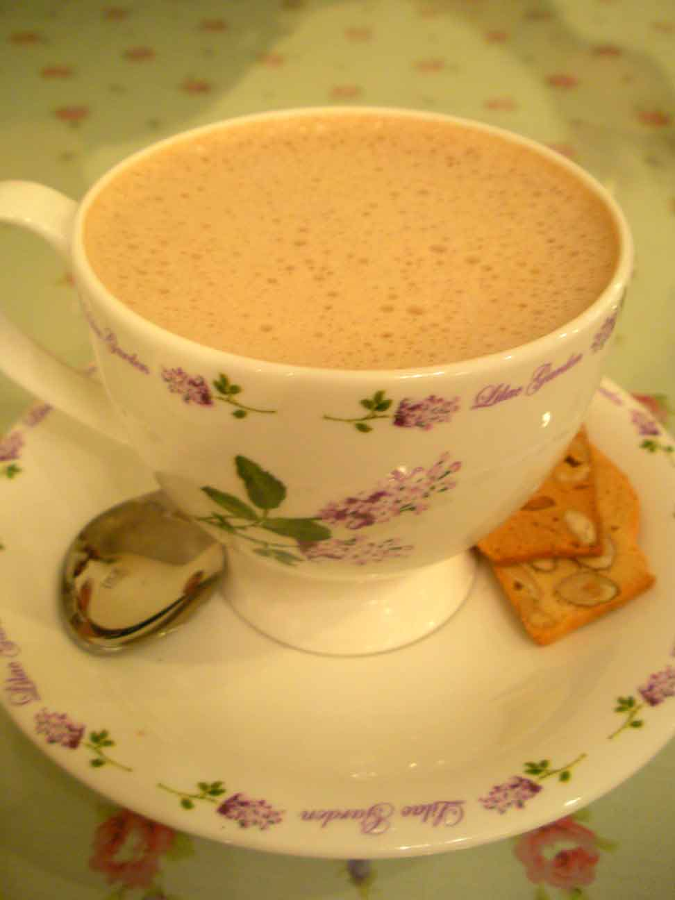 Annabelle's Place - hot chocolate