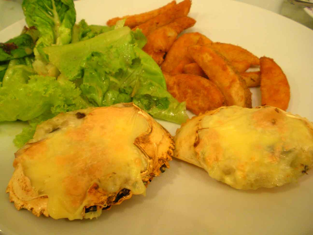 Annabelle's Place - stuffed crabs