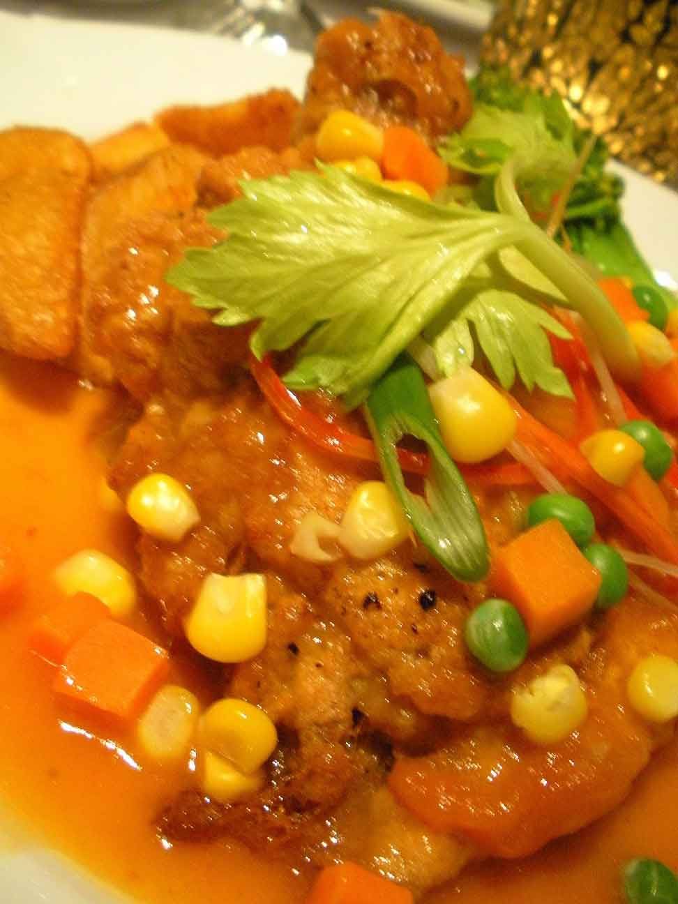 Eclectic's Hainanese Chicken Chop