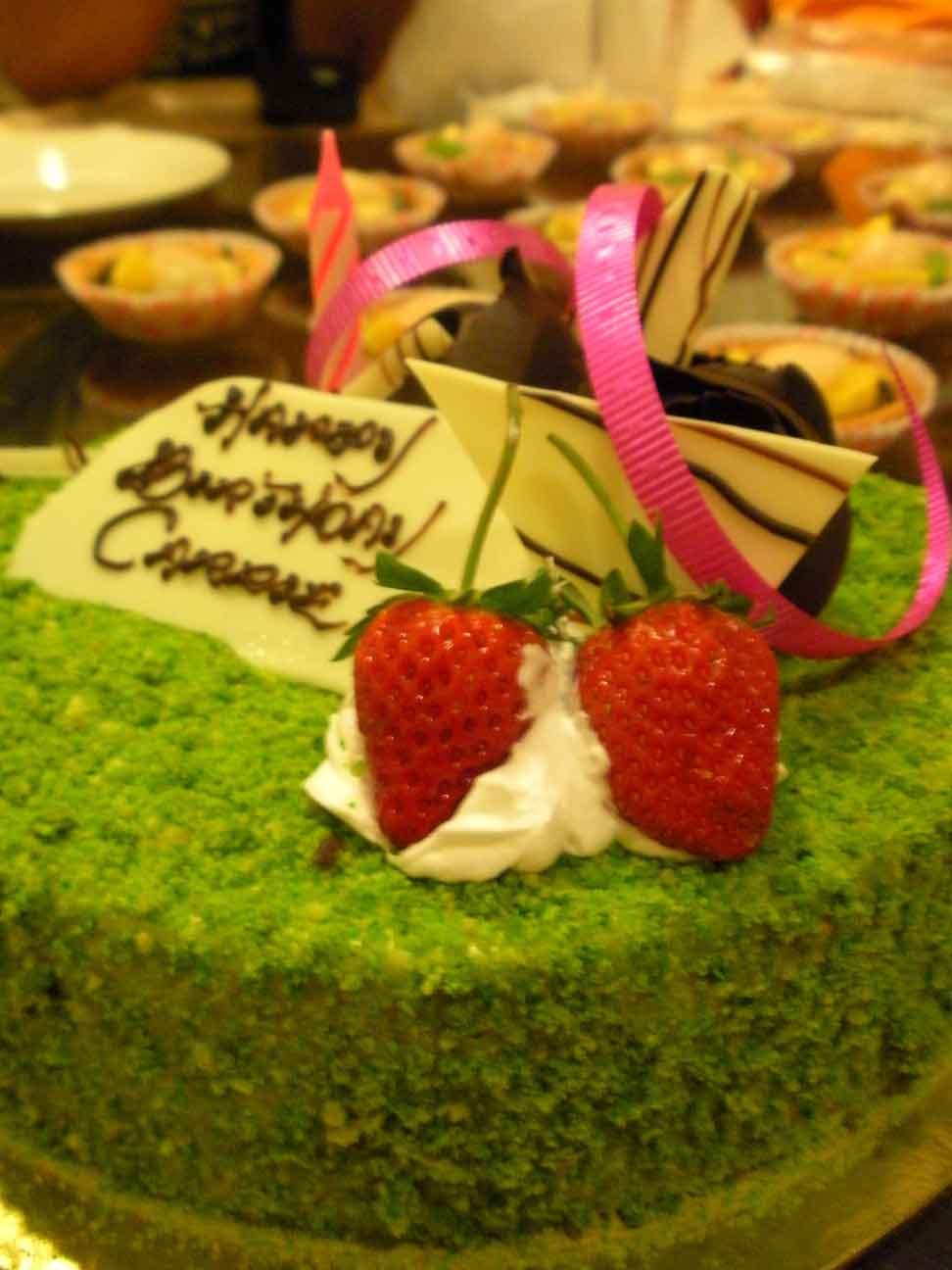 Cariso's cake