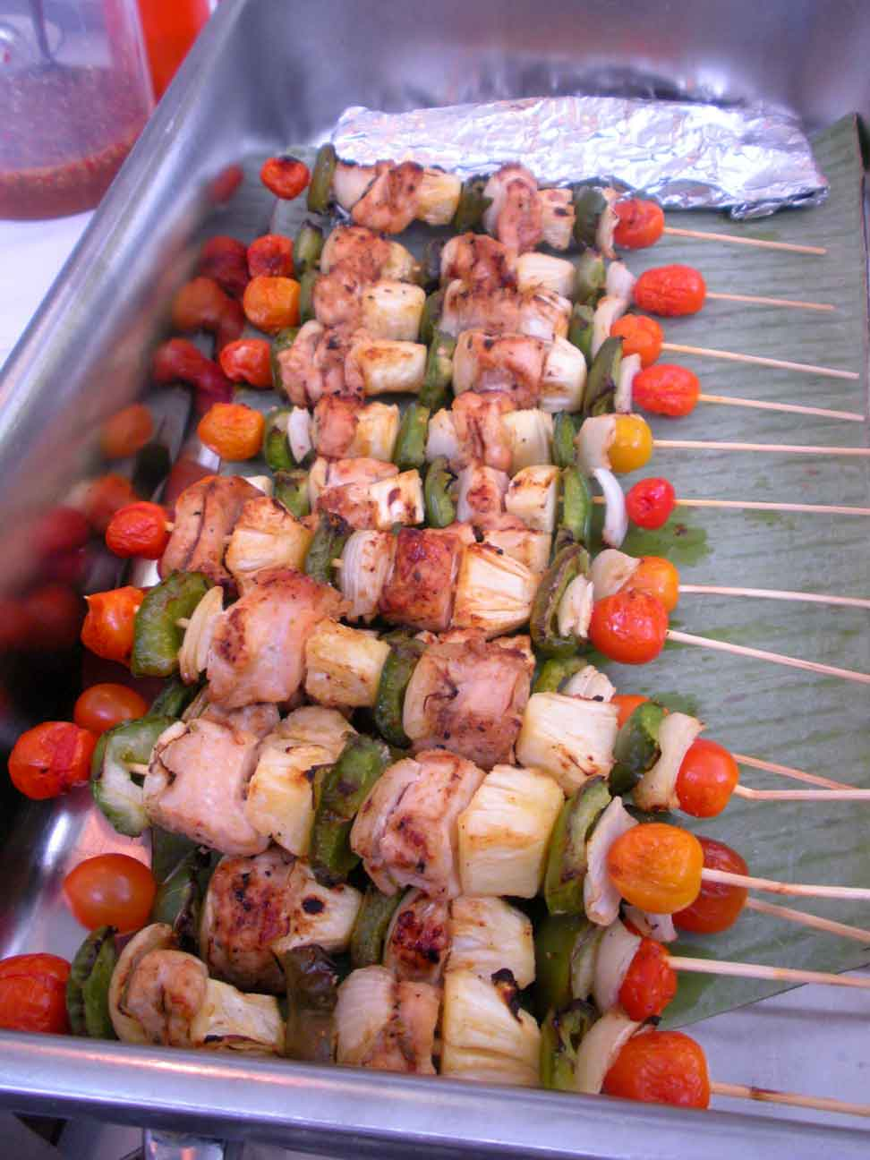 Thai Fair - Chicken skewers
