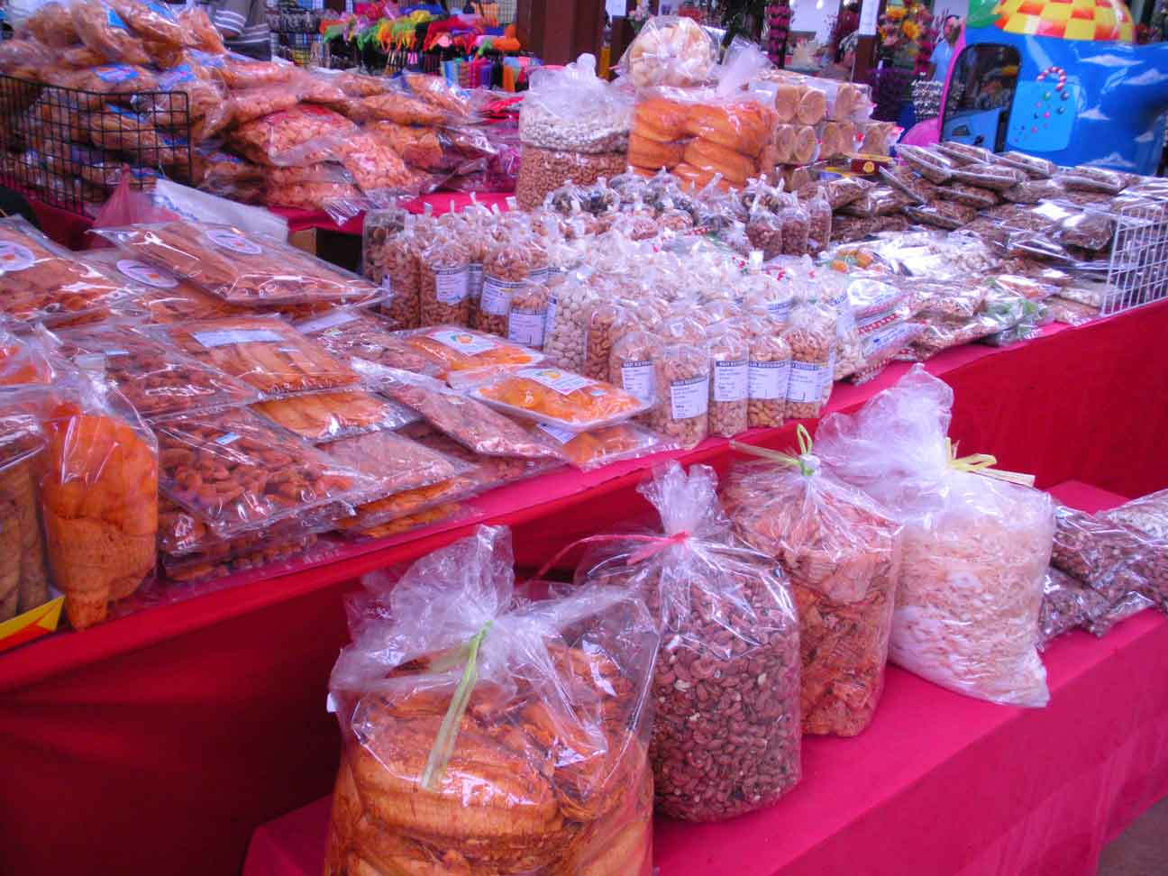Thai Fair - dried food items