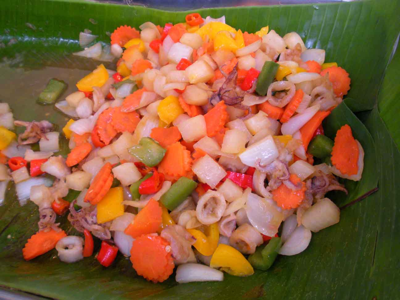 Thai Fair - stir fry seafood
