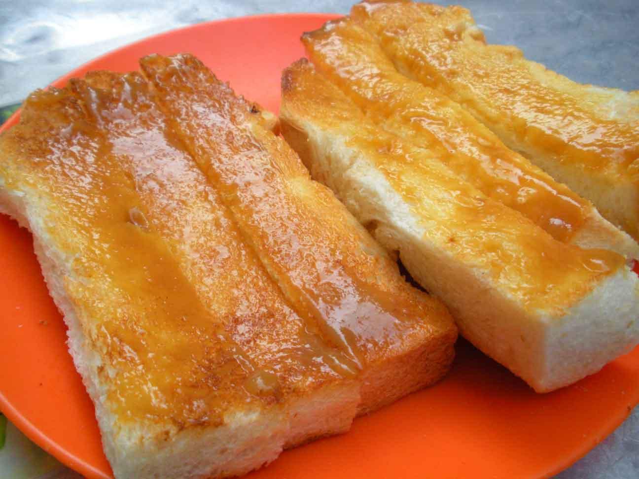 Toh Soon Roti Bakar - kaya