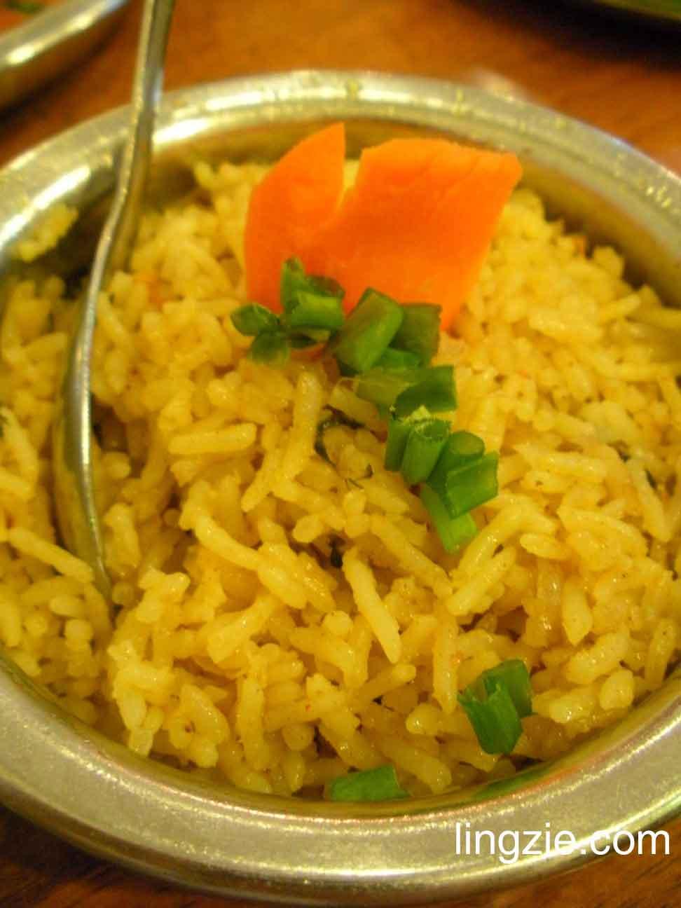 Karaikudi - briyani rice