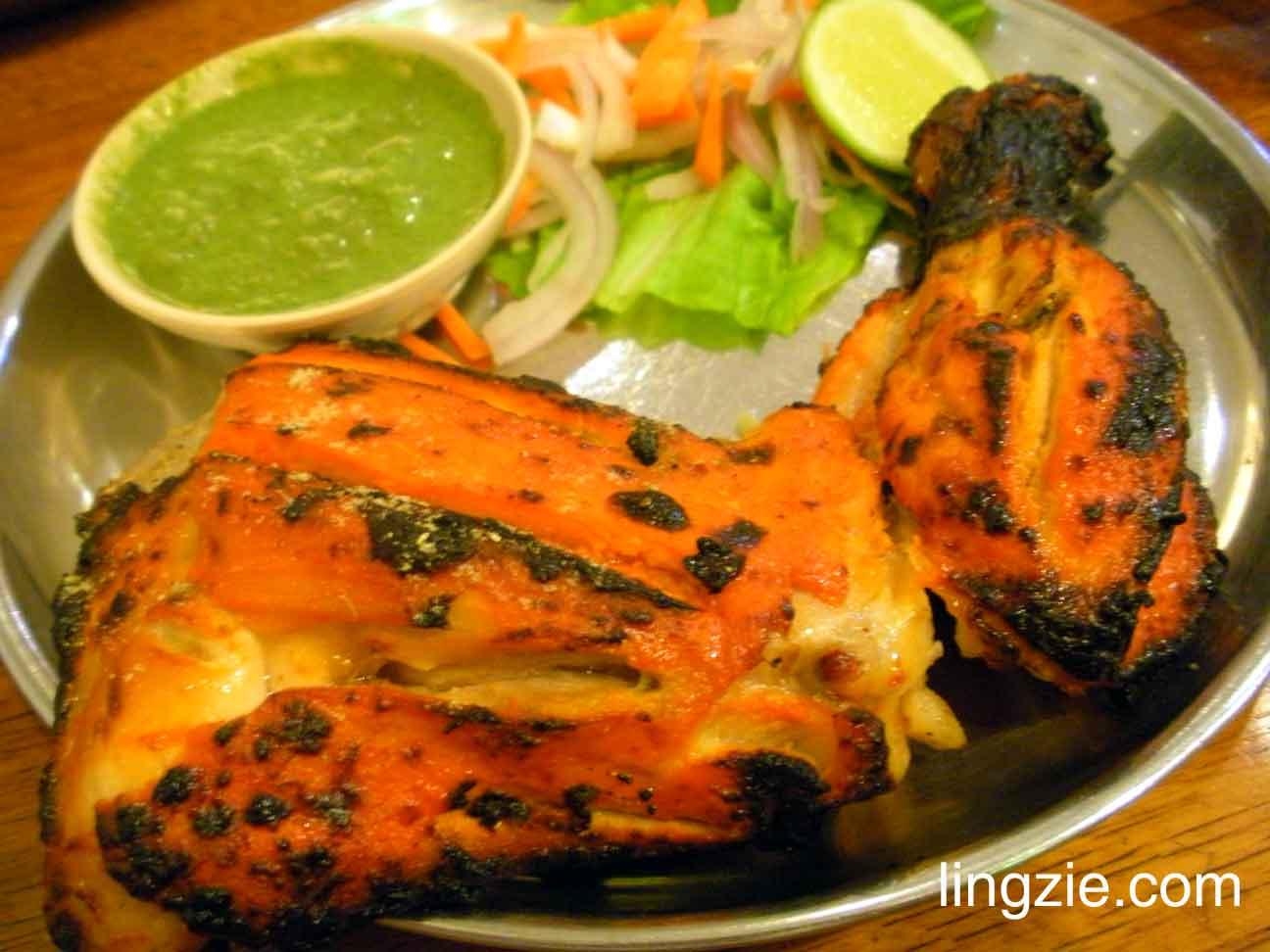 Karaikudi - tandoori chicken