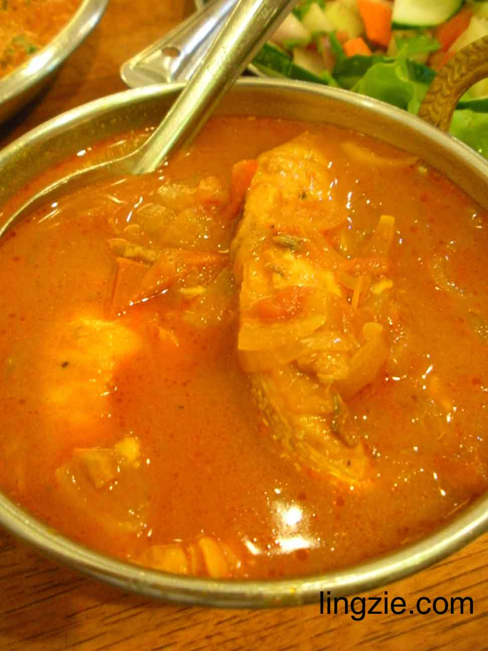 Karaikudi - fish curry